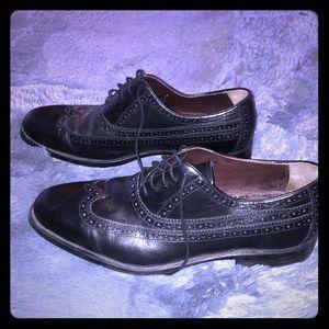 Johnston & Murphy Size 13m mens dress shoes